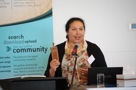 Ruth To'omua Whanau Ora Seminar Te Anga Mua