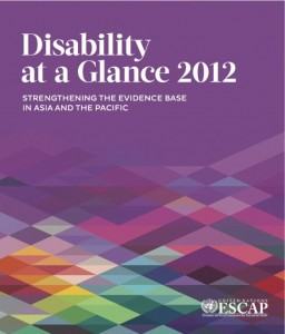 Disability at a Glance 2012