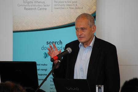 Sir Mason Durie Te Anga Mua Seminar 2012